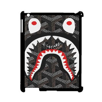 Shark Bape Goyard iPad 2/3/4 Case