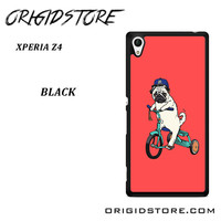 Pug Bicycle For Sony Xperia Z4 Case UY