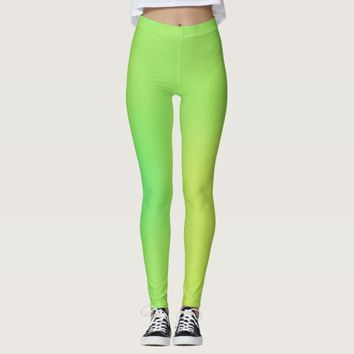 Faded Green Women's Leggings