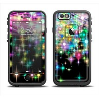 The Multicolored Glistening Lights Apple iPhone 6 LifeProof Fre Case Skin Set