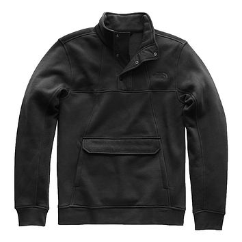 Men's Alphabet City Fleece Pullover in TNF Black by The North Face