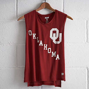 Tailgate Oklahoma Muscle T-Shirt, Red