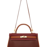 Limited Edition Hermes 32Cm Rouge Togo Leather Kelly | Moda Operandi