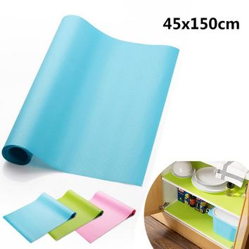 45x150CM Silicone Storage Drawers Mat Pad Kitchen Cabinet Shelf Liners Table Decoration Accessories Household Merchandises Stuff