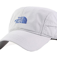 The North Face Adjustable Quick Dry Outdoor Sport Letter Baseball Sun Cap Hat (White, Free Size)
