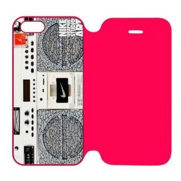 DCCKHD9 Nike Air Jordan Logo iPhone 5 | 5S Flip Case Cover