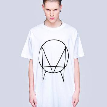 Limited Edition Long Clothing Collab 'OWSLA' T-Shirt - White // Unisex