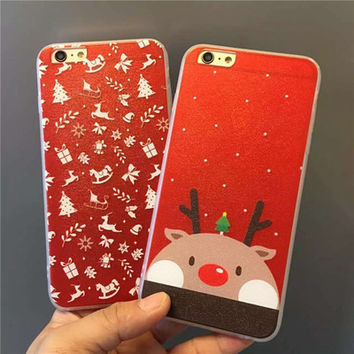 Christmas Transparent Silicone Phone Case [8365215745]
