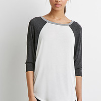 Oversized Raglan Top