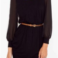 Madison Black Dress- Casual Dresses- Black Dresses- $49.99