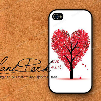 Love Tree iPhone 4 Case iPhone 4s Case iPhone Case by HandPark