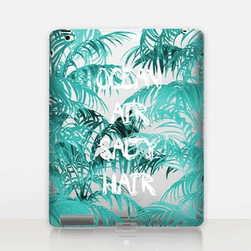 Ocean Air Transparent iPad Case For - iPad 2, iPad 3, iPad 4 - iPad Mini - iPad Air - iPad Mini 4 - iPad Pro