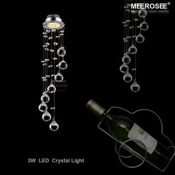 Mini Modern Crystal Ceiling Light