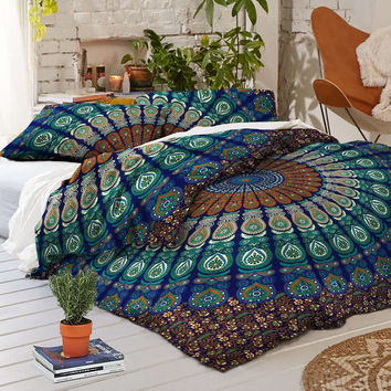 NEW Boho Odette Tapestry Full Duvet Cover SET