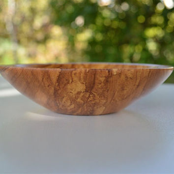 "Greek Olive Wood Bowl,  11.7cm (4"" 39/64), Wooden, Food Safe, Dining, Serving  Home Decor"
