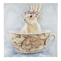 Bunny in a Cup Art