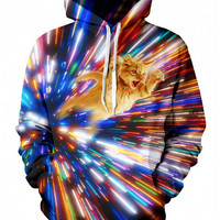 Fly Cat 3D Pullover Hoodie