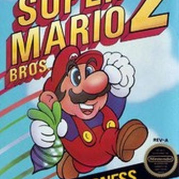 Super Mario Bros. 2 (Nintendo Entertainment System, NES, 1988)