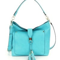 Kate Landry Focus Tasseled Hobo Bag | Dillards
