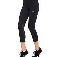 Nike Dri-FIT Epic Run Crop Tights - Black