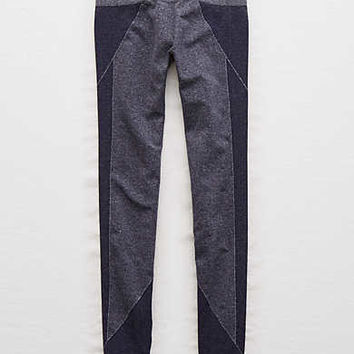 Aerie Play Seamless Legging , Navy
