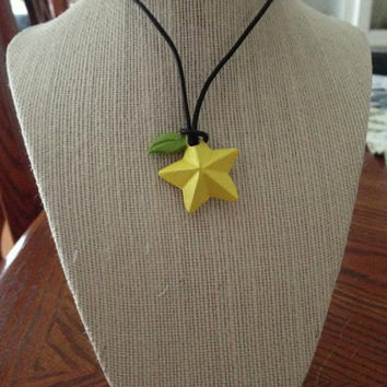 Kingdom Hearts Paopu Fruit Necklace