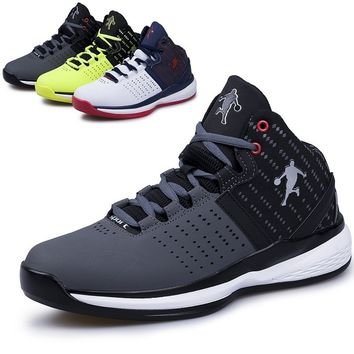 2018 Men`s Foam Bradyseism Technology Sport Shoes Athletic Sneakers Outdoor Wear-resisting Basketball Shoes