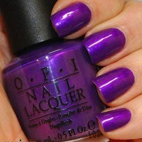OPI Nail Polish (NL B30-Purple With A Purpose) NEW Brights Collections