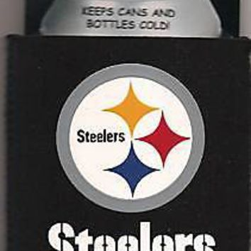 Pittsburgh Steelers NFL Can Bottle Koozie