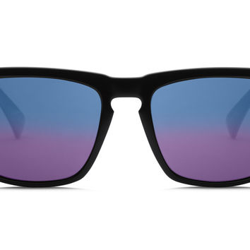 Electric - Knoxville Gloss Black Sunglasses, OHM+ Blue Polarized Lenses