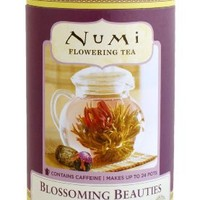 Numi Blossoming Beauties (Loose), Flowering Tea Canisters 1.63-Ounce (Pack of 2)
