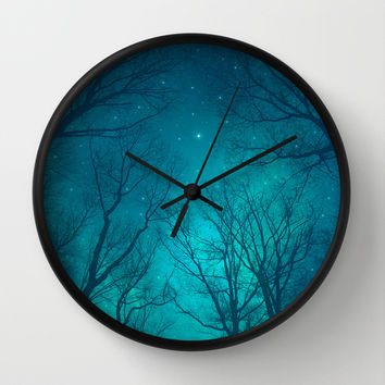 Only In the Darkness Wall Clock by Soaring Anchor Designs