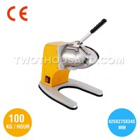Ice Crusher, CE, Yellow, S/S 201, 100 Kgs / Hour, 180 W, TT-I115A