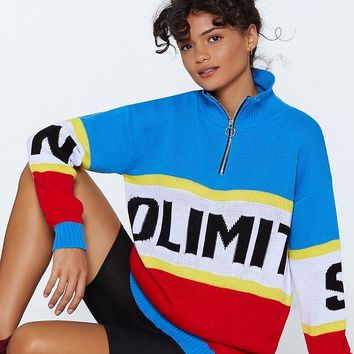 No Limits Colorblock Sweater