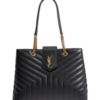 Saint Laurent Large LouLou Matelassé Leather Tote | Nordstrom