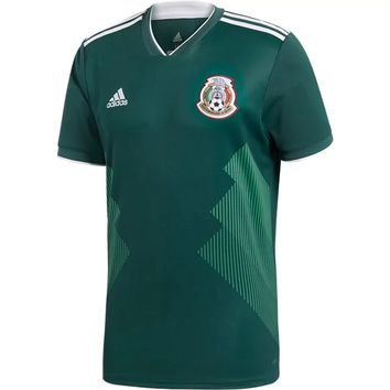 KUYOU Mexico 2018 World Cup Home Men Soccer Jersey Personalized Name and Number