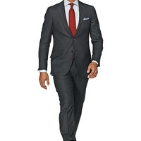 Suit Grey Birds Eye Sienna P2444i | Suitsupply Online Store