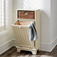 Holtom Antique White Hamper