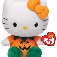 Ty Beanie Babies Hello Kitty - Pumpkin