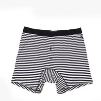 Sunspel / French Stripe Two Button Short