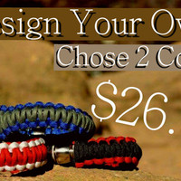 Design Your Own! - Paracord Pipe Bracelet