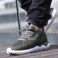 "Tubular Runner Weave ""Base Green"""