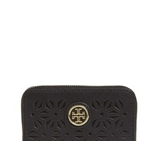 Women's Tory Burch 'Robinson' Coin Pouch - Black