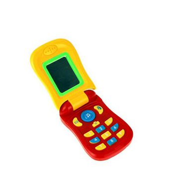 Funny Flip phone toy Baby Learning Study Musical Sound phone Educational Toy mobile phone electric toy for kid