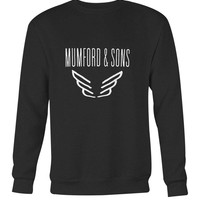 Mumford And Sons Logo Band Tour Long Sweater