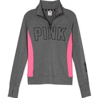 PINK ULTIMATE HALF-ZIP - PINK - Victoria's Secret