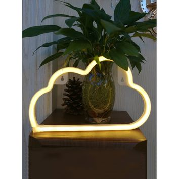 Battery Operated Cloud Light Battery Not Include