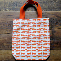 Foxes Mini Tote