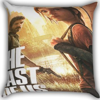 The Last Of Us cover Zippered Pillows  Covers 16x16, 18x18, 20x20 Inches