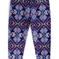 Kids Colorful Tribal Leggings